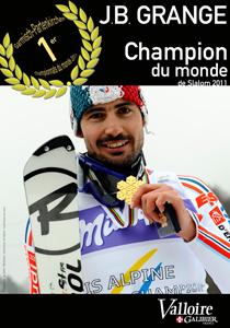 JB Grange Champion du Monde