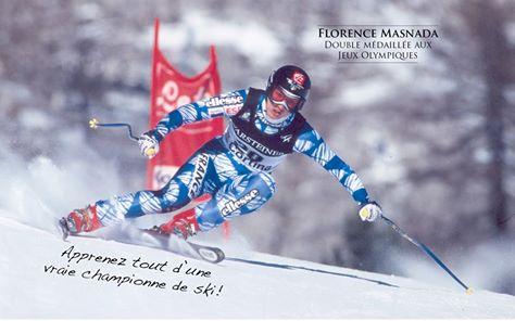 Skier avec Flo Masnada ? C'est possible !