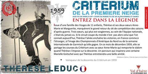 Les Légendes – Thérèse Leduc