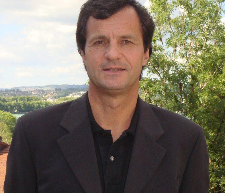 Michel Vion Président de la Fédération Française de ski